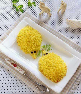 Món ăn ngon và đẹp: 2 con nhím