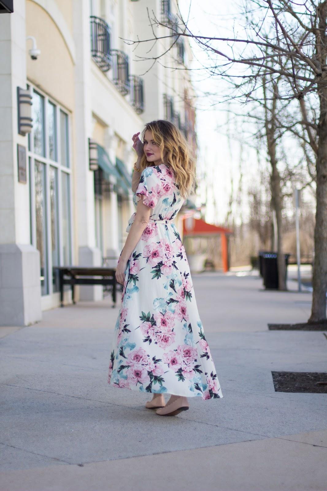 easter floral dress