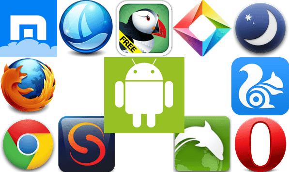 3 Aplikasi Browser Android Dari Yang Terbaik