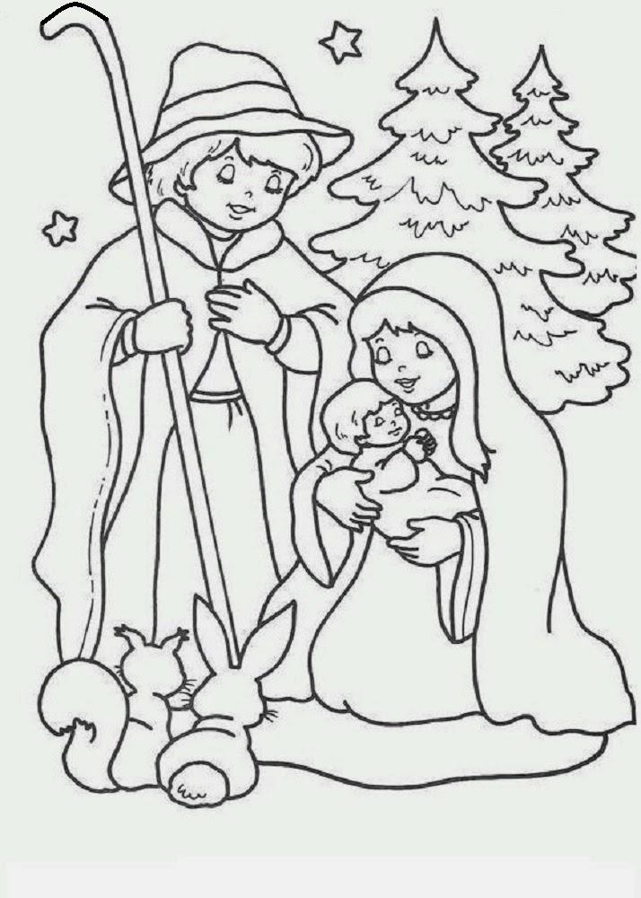 Sauvage27 Presepe Disegni Da Colorare Nativity Coloring Pages