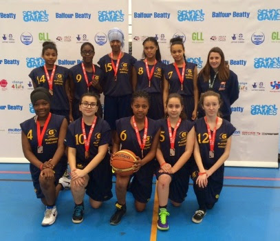 Disadvantage dunked at London Youth Games, by Greenhouse Charity U16 Girl's Basketball team