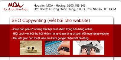 """Khóa Học SEO Copywriting Tại Hà Nội – """"Giá Rẻ - Chất Lượng"""""""