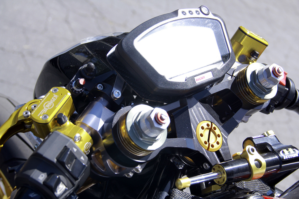 """ducati 1098 caferacer """"black fin"""" 