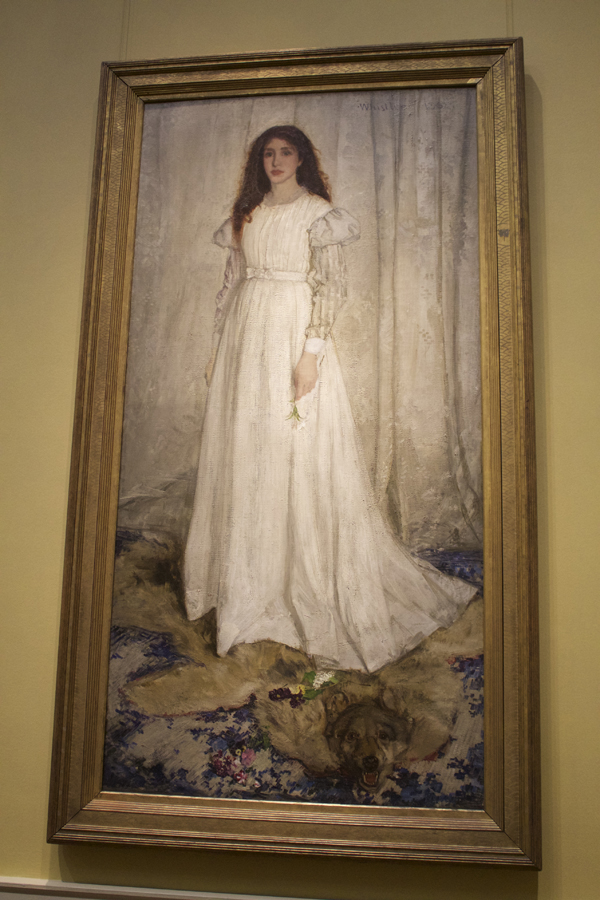 Symphony in White, No. 1: The White Girl, National Gallery of Art Painting, NGA, Museum Hack Tour, Museum Hack National Gallery of Art Tour