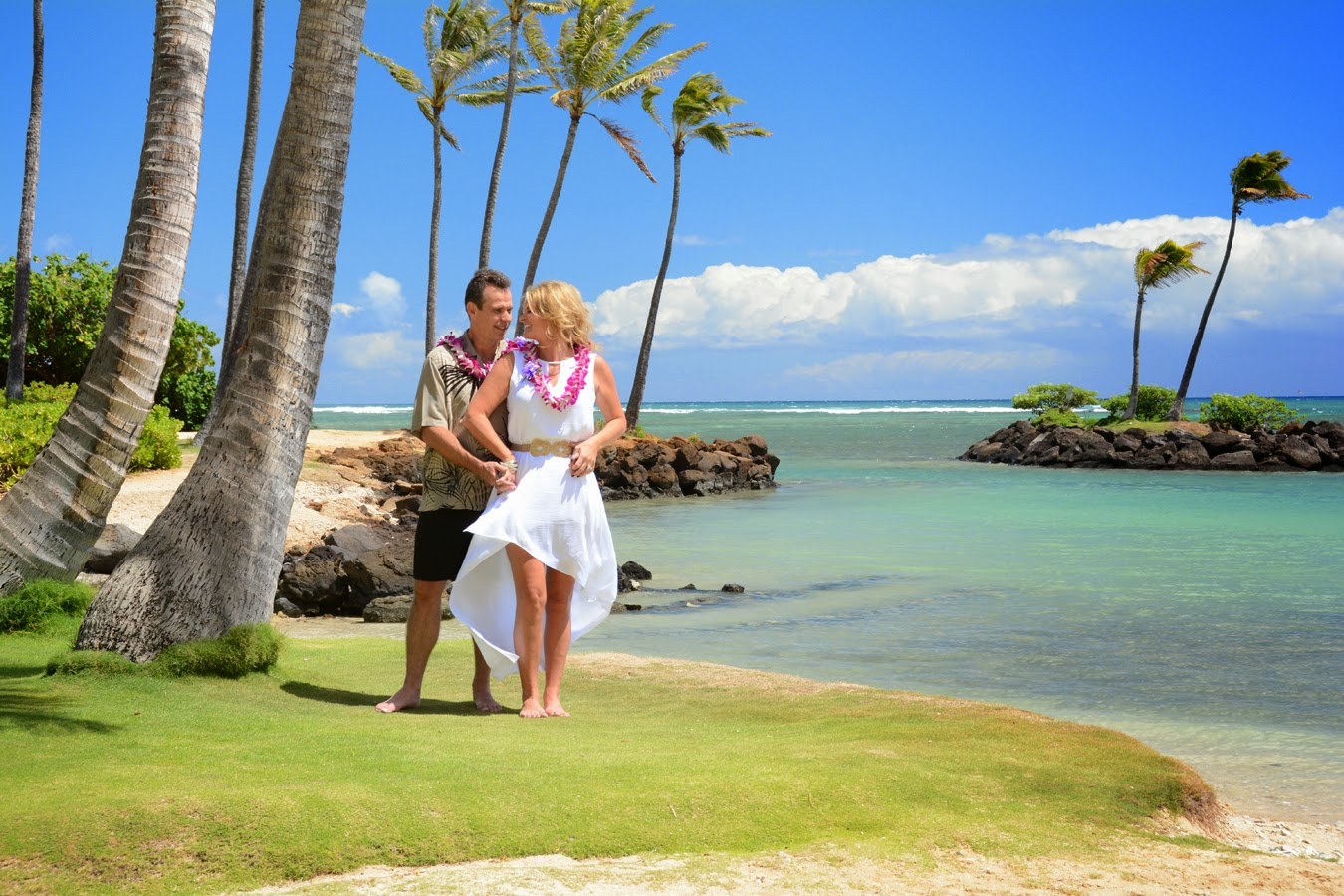 Hawaii Weddings The Peninsula At Kahala Beach