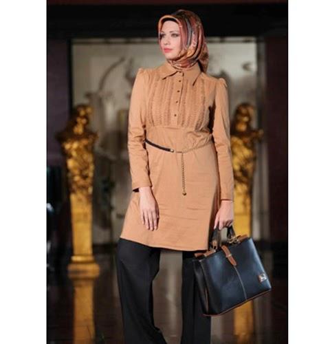 model baju muslimah untuk wanita gemuk
