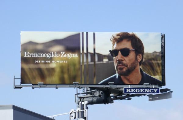 Ermenegildo Zegna sunglasses S18 billboard