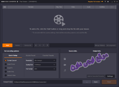 تحميل برنامج GOM Video Converter تحويل جميع انواع الفيديو
