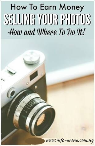 how to earn money selling photos online