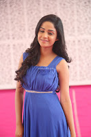 Divya Nandini stunning Beauty in blue Dress at Trendz Exhibition Launch ~  Celebrities Galleries 062.JPG