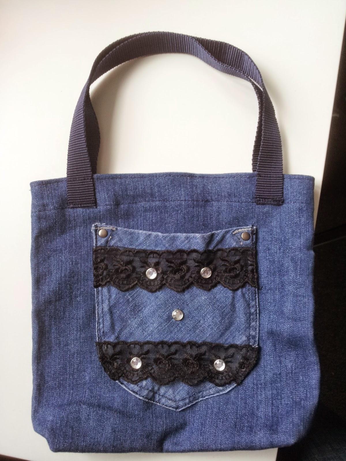 debbie mackay 39 s handmade kleine jeanstasche selber n hen. Black Bedroom Furniture Sets. Home Design Ideas