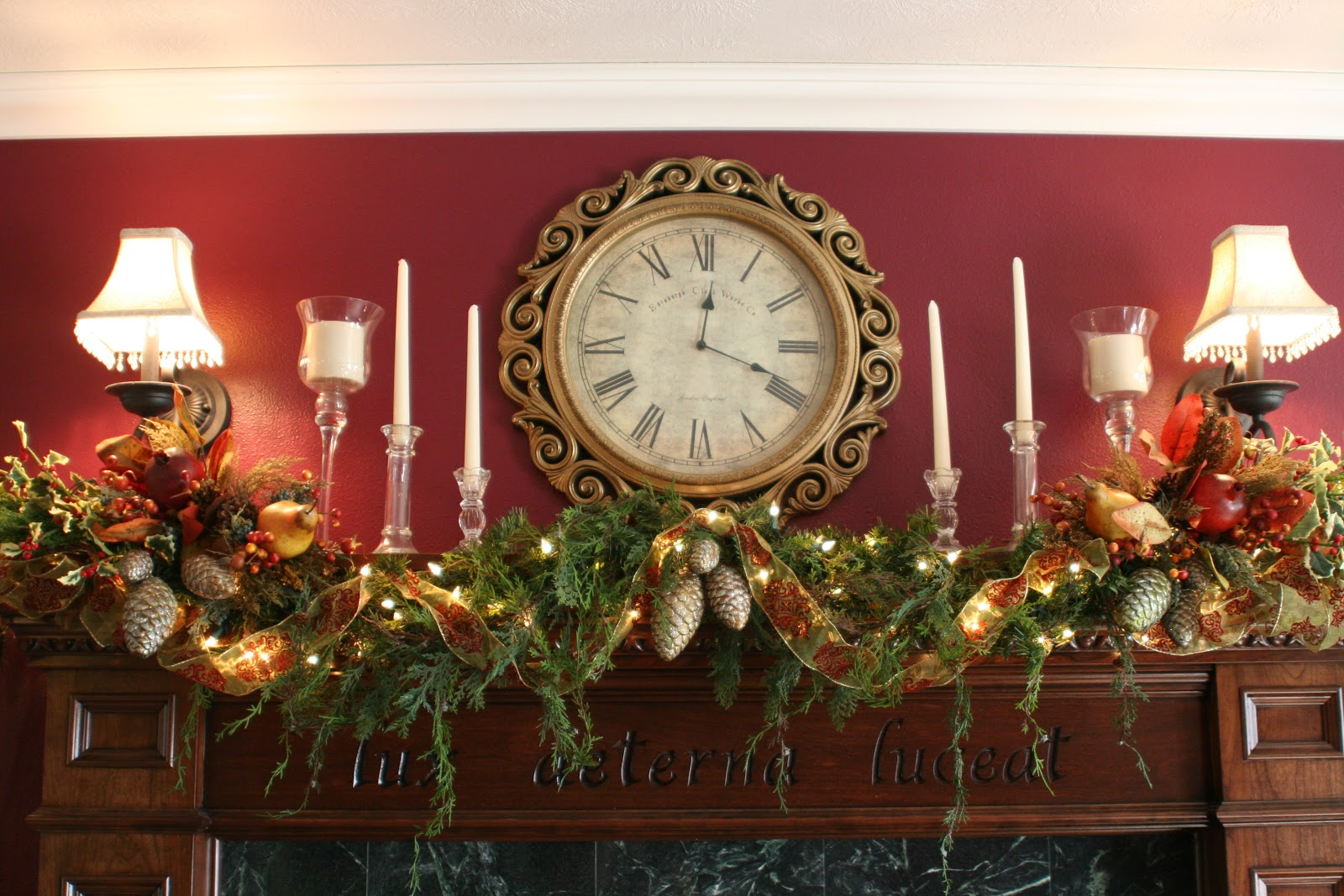 Victorian Christmas Garland