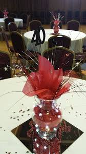 High School Reunion Table Decorations