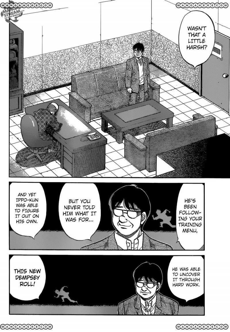 Hajime no Ippo - Chapter 1146