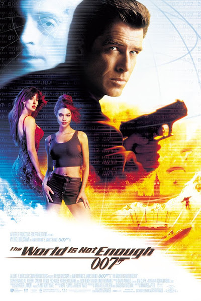 Poster Of James Bond The World Is Not Enough 1999 720p Hindi BRRip Dual Audio Download