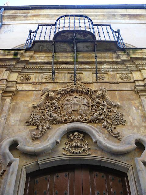 Fachada casa Unamuno en Salamanca