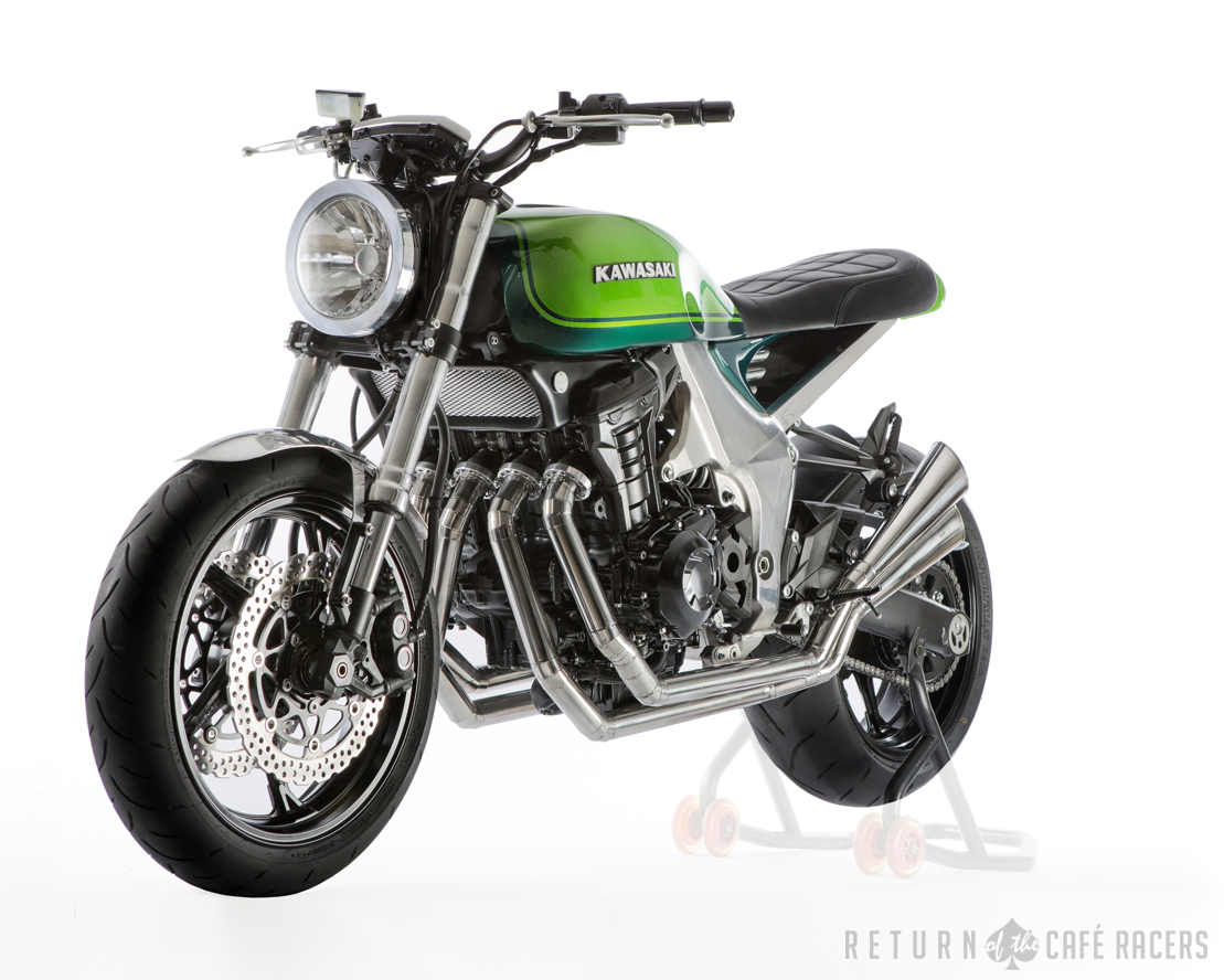 kawasaki z1000 40th anniversary concept ~ return of the cafe racers