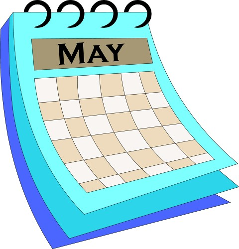 Image result for End of May calendar clipart