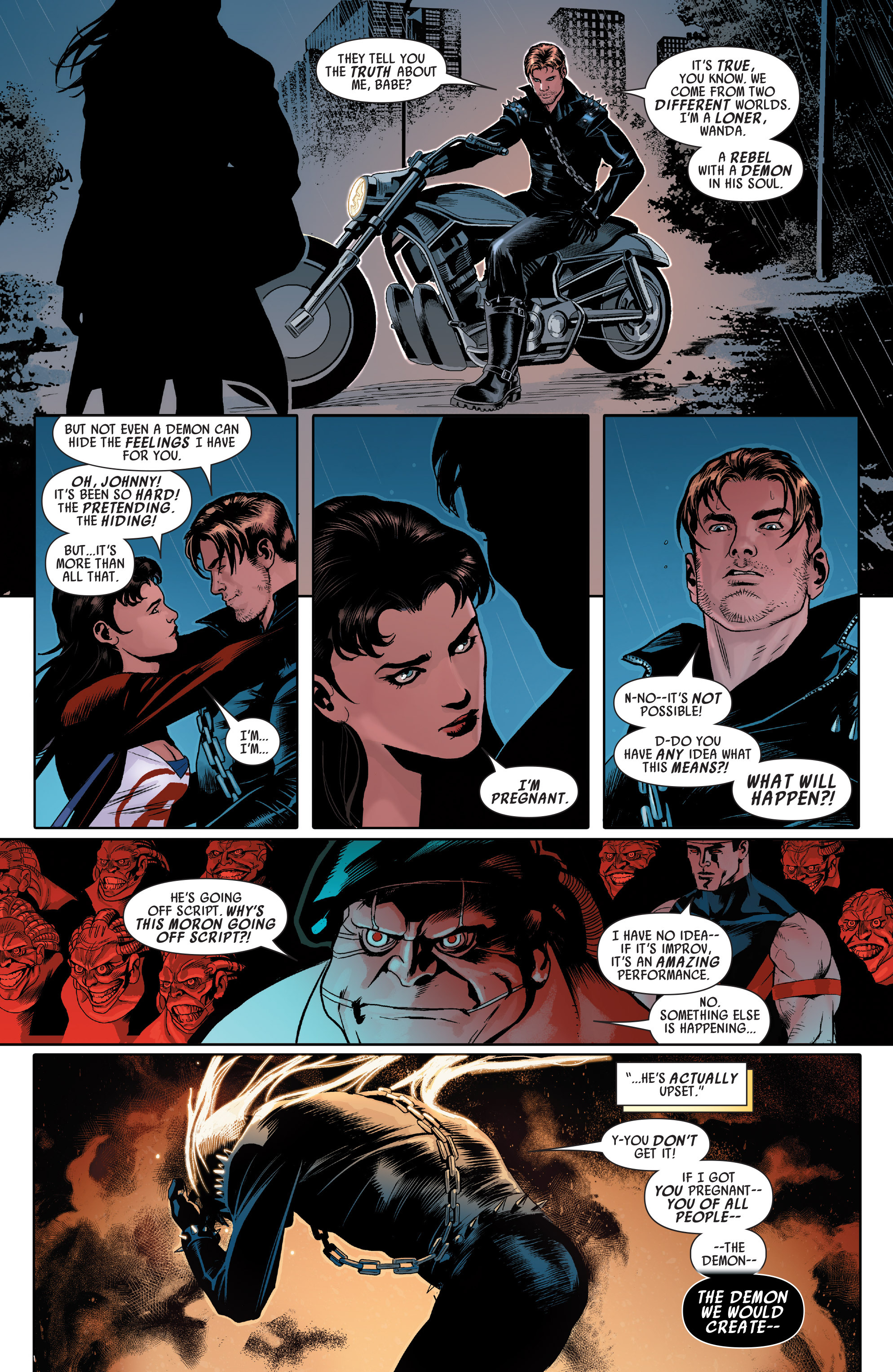 Read online Uncanny Avengers (2012) comic -  Issue # Annual 1 - 21