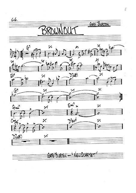 Partitura Trombón Gary Burton
