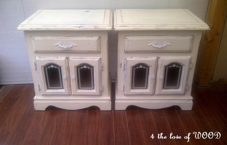 4 The Love Of Wood Cupboard Waxing Shabby Chic Cupboard