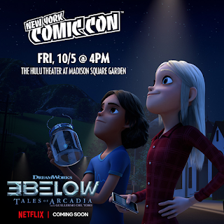 DreamWorks Tales of Arcadia 3Below Animated Series at New York Comic Con 2018