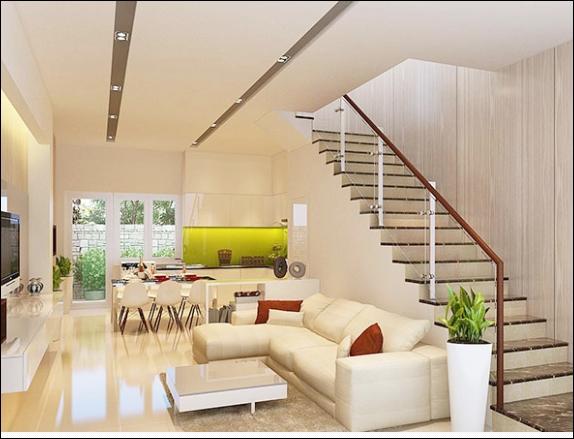Cho thuê nhà phố liền kề Mega Village Khang Điền Quận 9