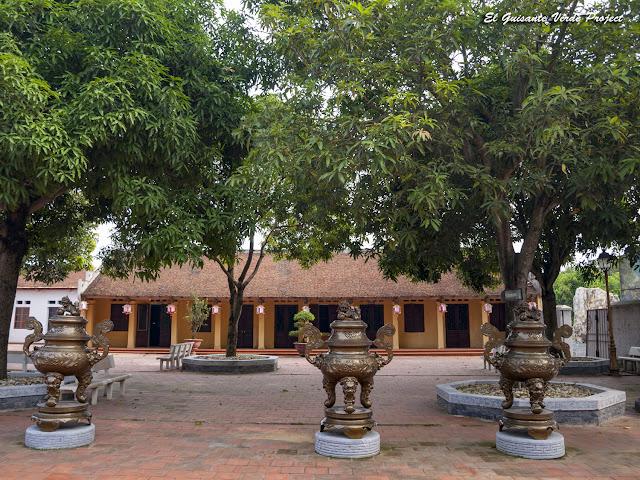 Templos Bac Ninh, patio interior - Vietnam por El Guisante Verde Project