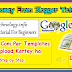 how to upload custom template on blogger #2 (Serise Blogger Website) In Hindi India