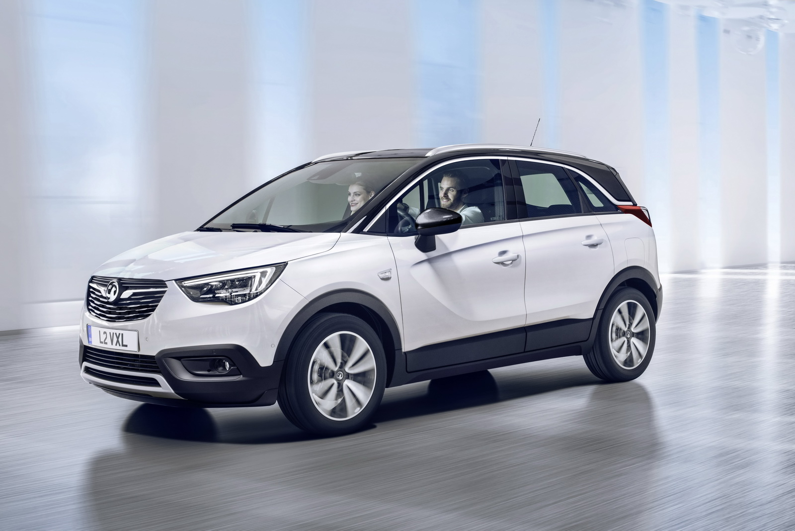 this is the new opel vauxhall crossland x sub compact crossover. Black Bedroom Furniture Sets. Home Design Ideas