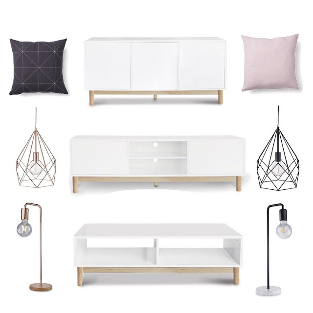 The nordic look at aldi glamour coastal living for Sideboard aldi