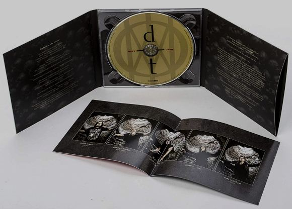 DREAM THEATER - Distance Over Time [Ltd. Digipack +1] (2019) disc