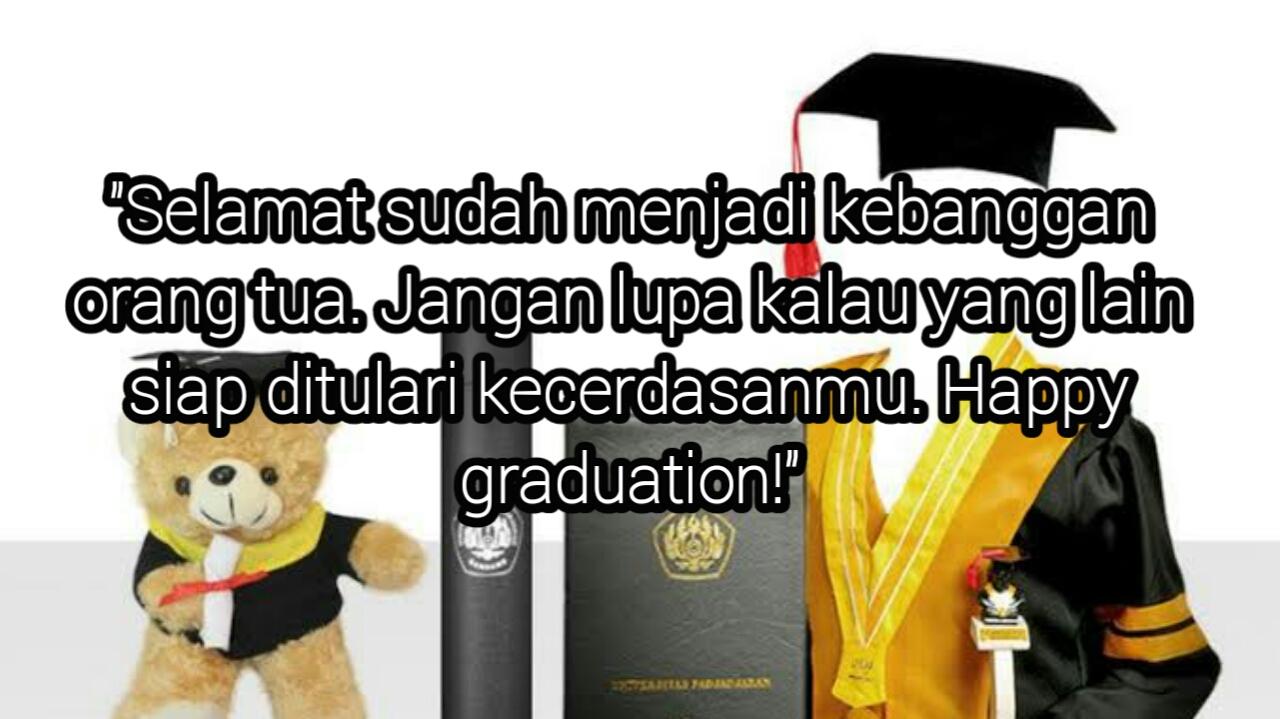 Kata Mutiara Wisudawan