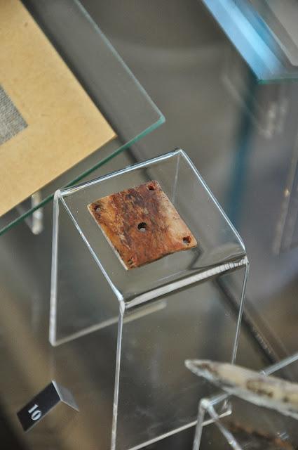 Staré Město, Uherské Hradiště Muzeum na Valach - tabliczka tkacka