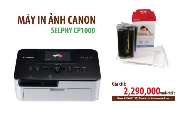 bán máy in ảnh canon selphy cp1000 giá rẻ