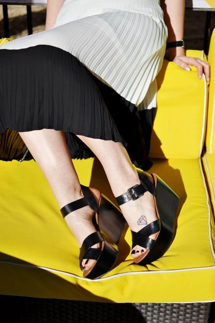 Michael Michael Kors flatform sandals