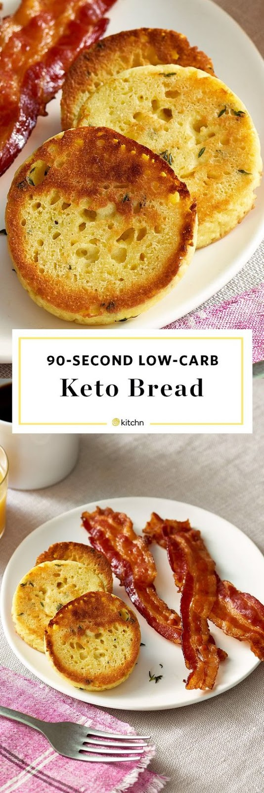 90-Second Keto Bread