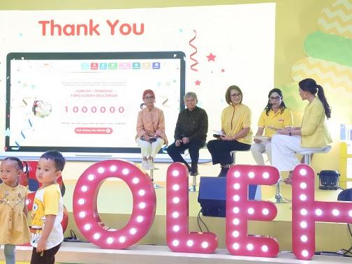Merayakan Sukses Gerakan Sejuta #IyaBoleh Dancow Sekaligus Peluncuran Modul Anak Unggul Indonesia
