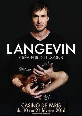 LANGEVIN : le créateur d'illusions en spectacle au Casino de Paris