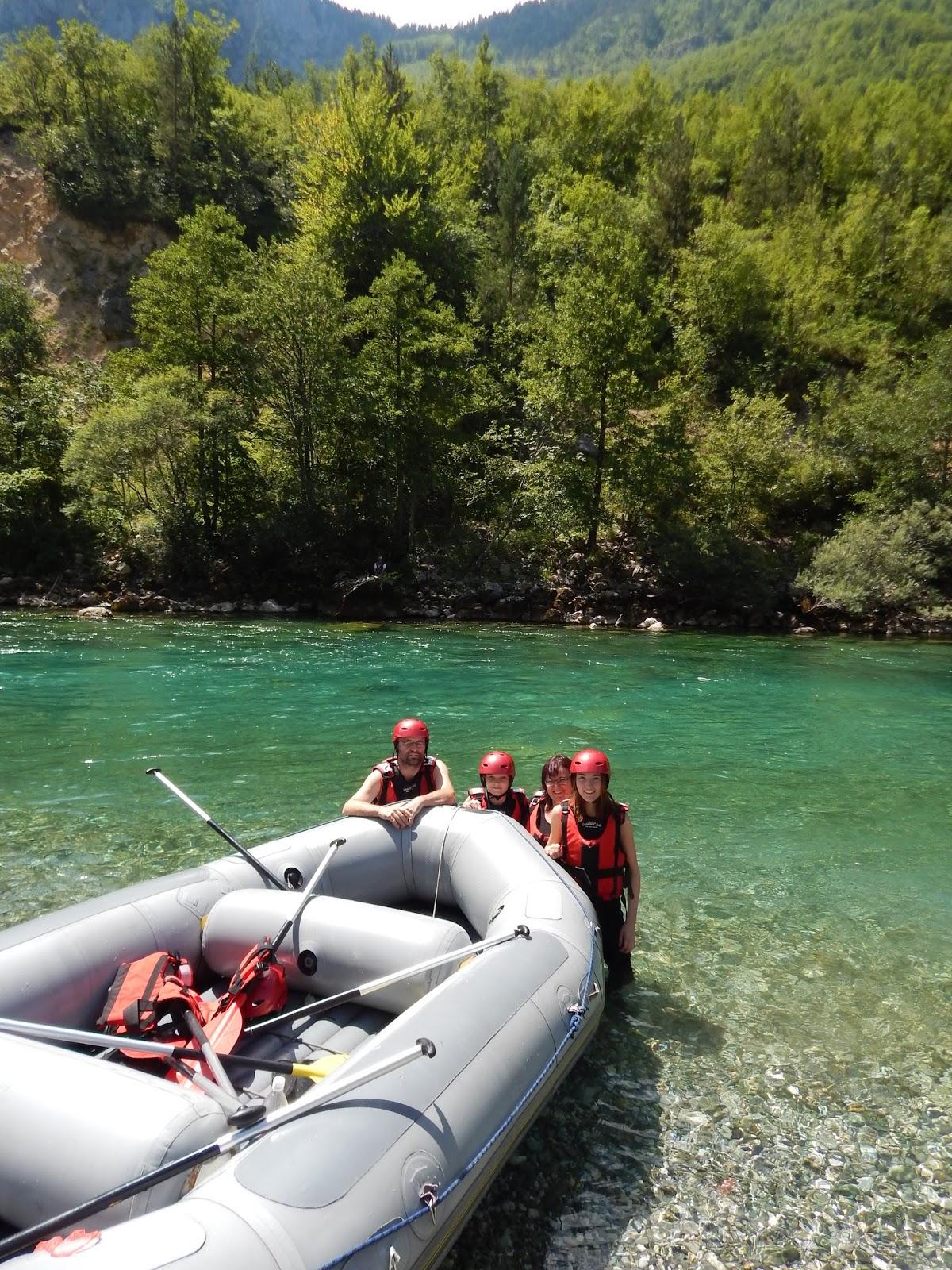 Rafty v Bosně a Hercegovině na řece Piva