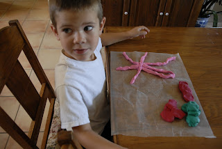 play dough art
