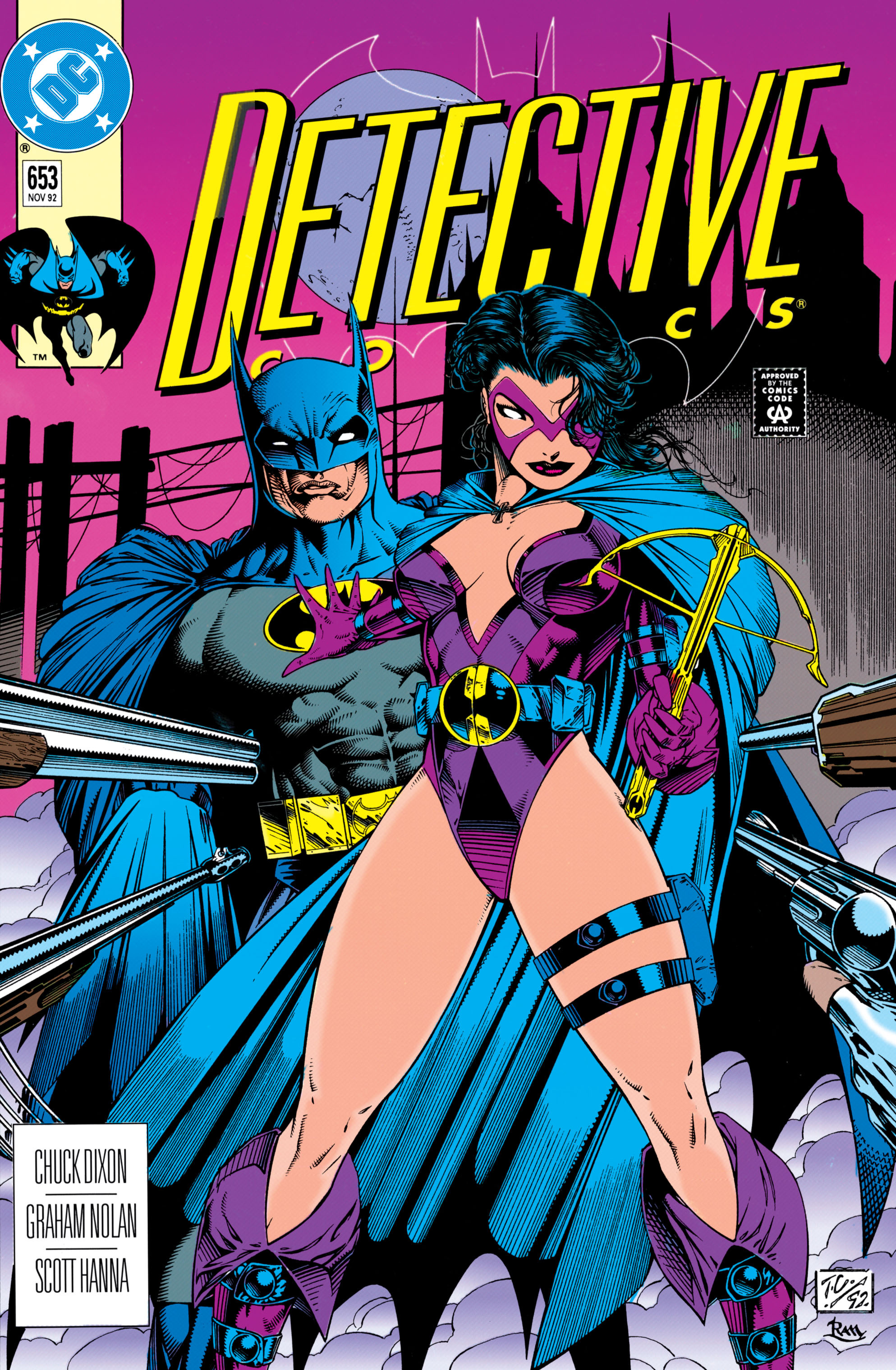 Detective Comics (1937) 653 Page 0