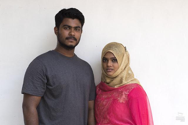 pareja de kerala india