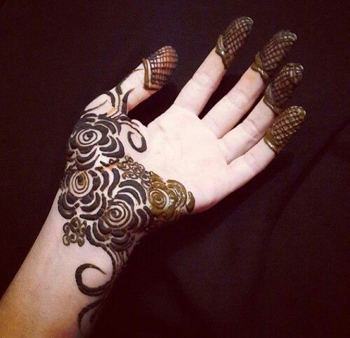 Khaleeji Henna Mehndi Designs
