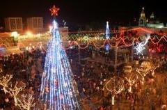 クリスマス恒例の深夜ミサ キリスト生誕地 聖カテリナ教会