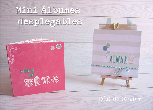 scrap tutorial paso a paso mini album desplegable