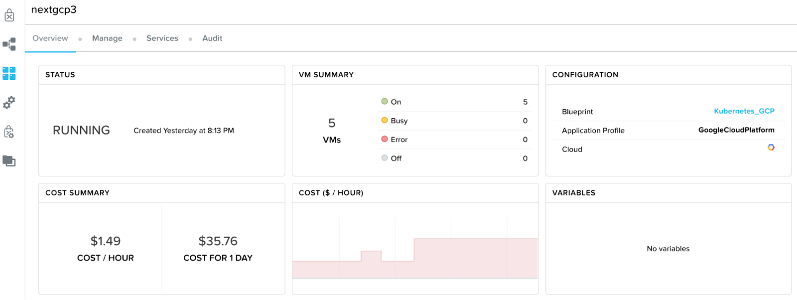 Google cloud platform blog going hybrid with kubernetes on google the kubernetes cluster is up and running on compute engine within a couple of minutes again with five vms one master node four worker nodes malvernweather Images