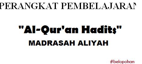 Download Rpp Slibus Prota Dan Prosem Al Qur An Hadits Ma Kelas X Kurikulum 2013 Belopohan