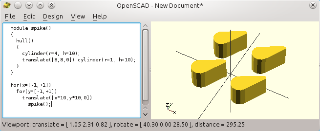 3D printer improvements: How to use Openscad (3): iterations
