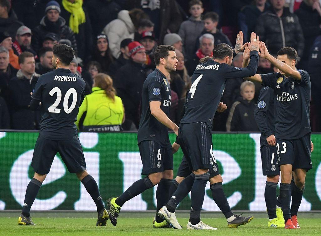 9ed0f625126 Ajax Amsterdam vs Real Madrid 1-2 Champions League 2019 - Soccer